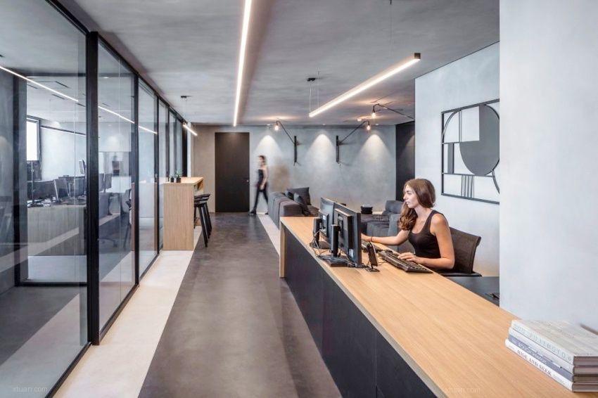 合肥办公室接待区的装修设计需要注意那几点