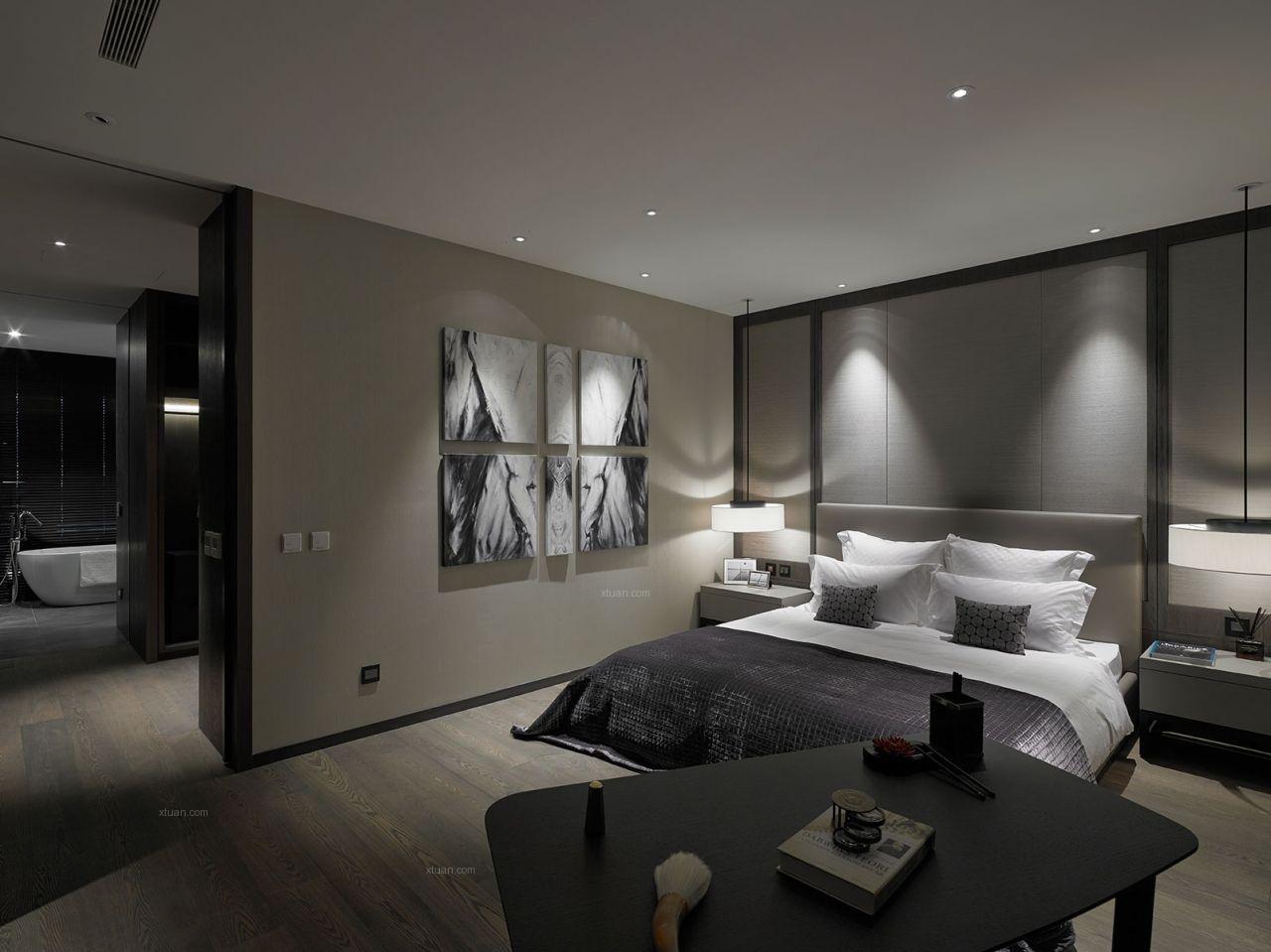 一室一厅主卧室