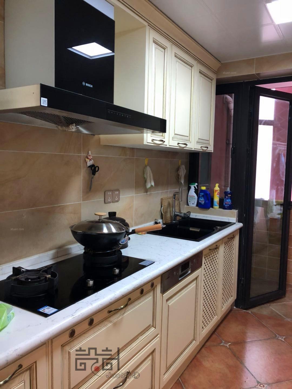 三居室法式风格厨房