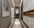 保利百合127平米现代简约风格装修案例效果图