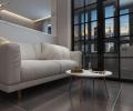 恒祥空间-小户型个性黑白灰设计-哈尔滨鸣雀装饰