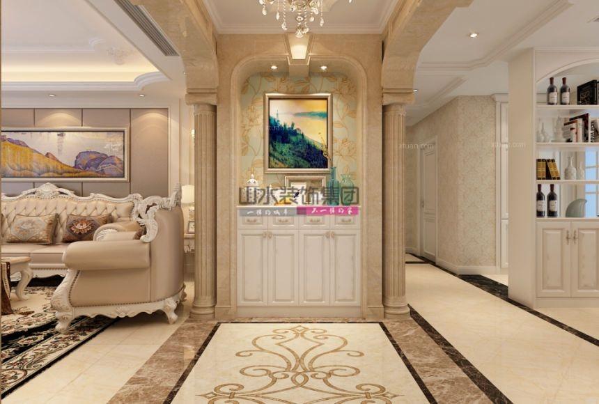 【山水空间装饰】绿城玫瑰园欧式装修家居家装