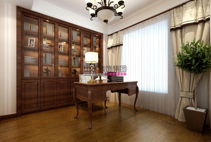 别墅美式风格书房