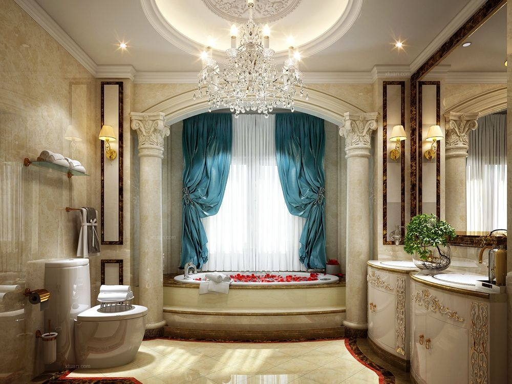 居礼别墅项目装修欧式古典风格