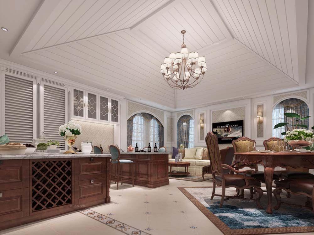 长提花园别墅项目装修欧式风格设计