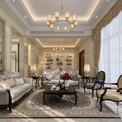 长堤花园别墅欧美古典风格设计