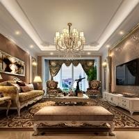 一品漫城160平公寓戶型設計案例