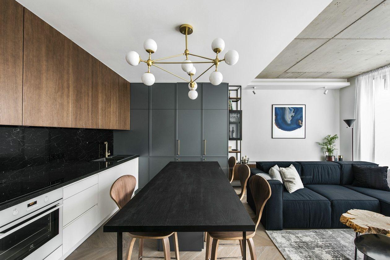 富成别墅项目装修现代风格设计案例