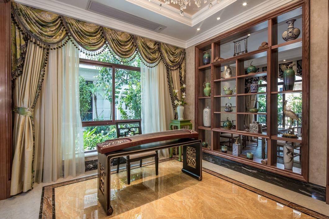富成别墅项目装修欧式古典风格设计