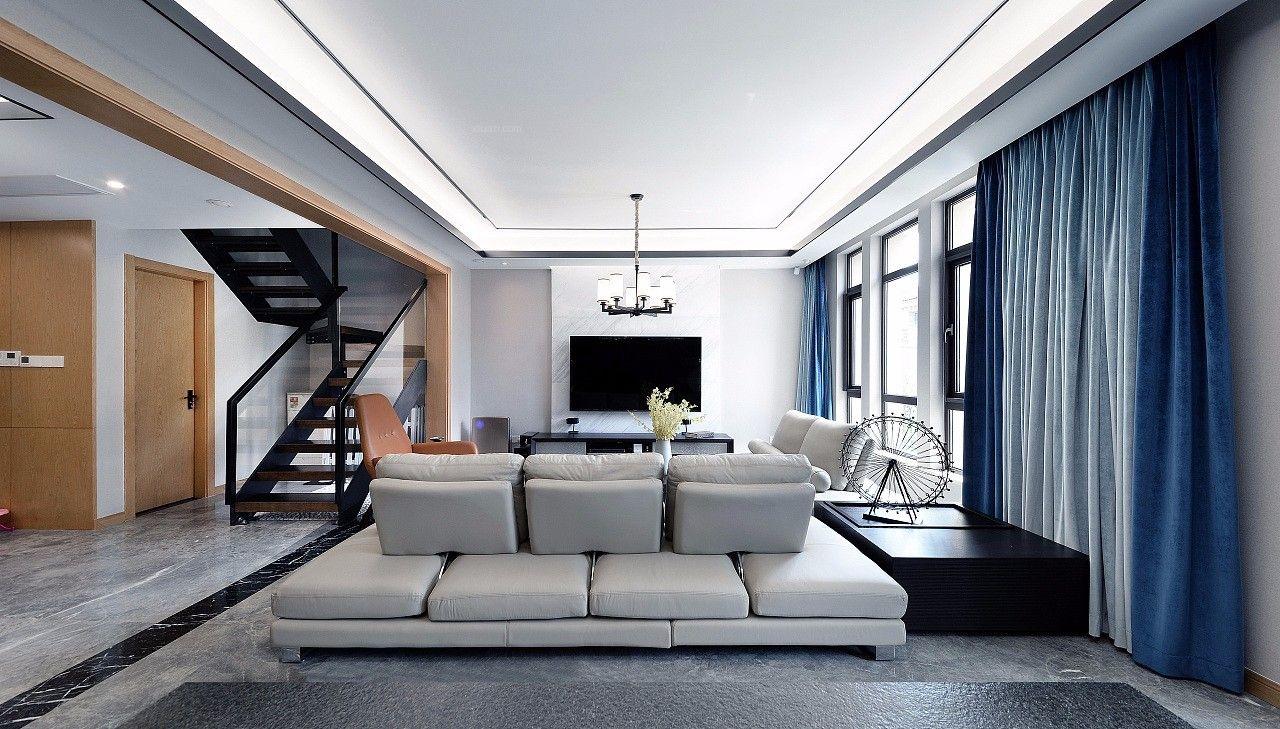 绿梅别墅装修现代风格设计