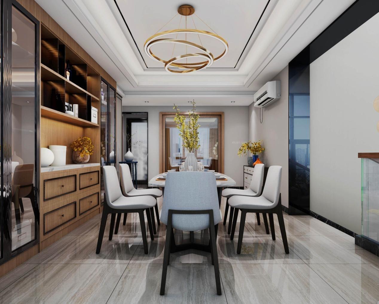绿梅别墅现代风格设计案例展示