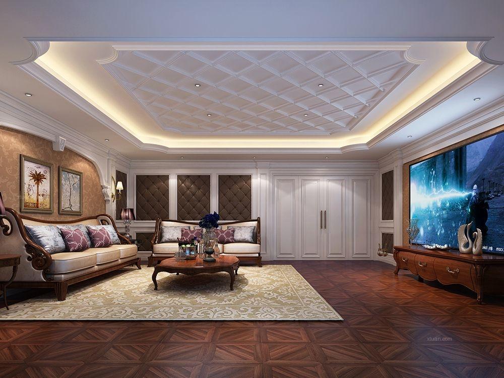 顺驰兰郡别墅项目装修欧式古典风格