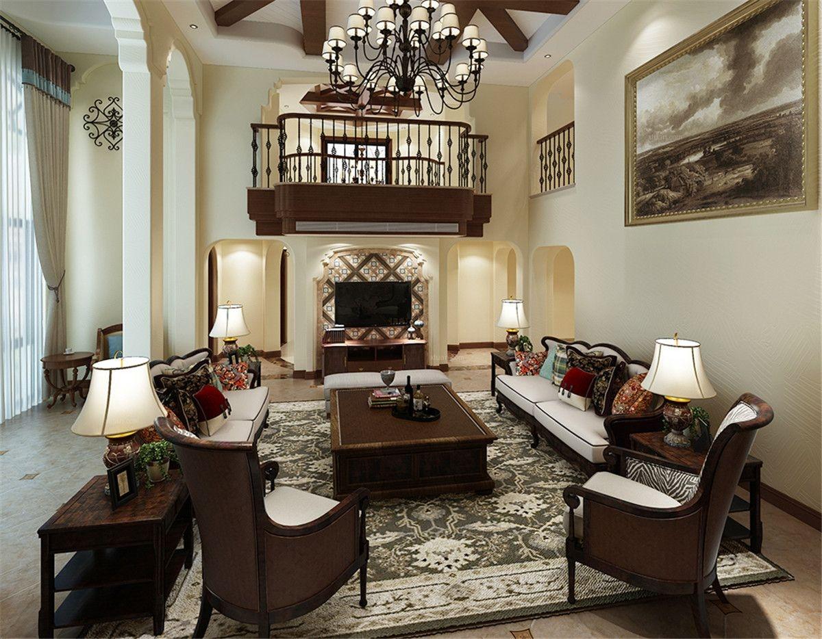 联排别墅美式风格客厅