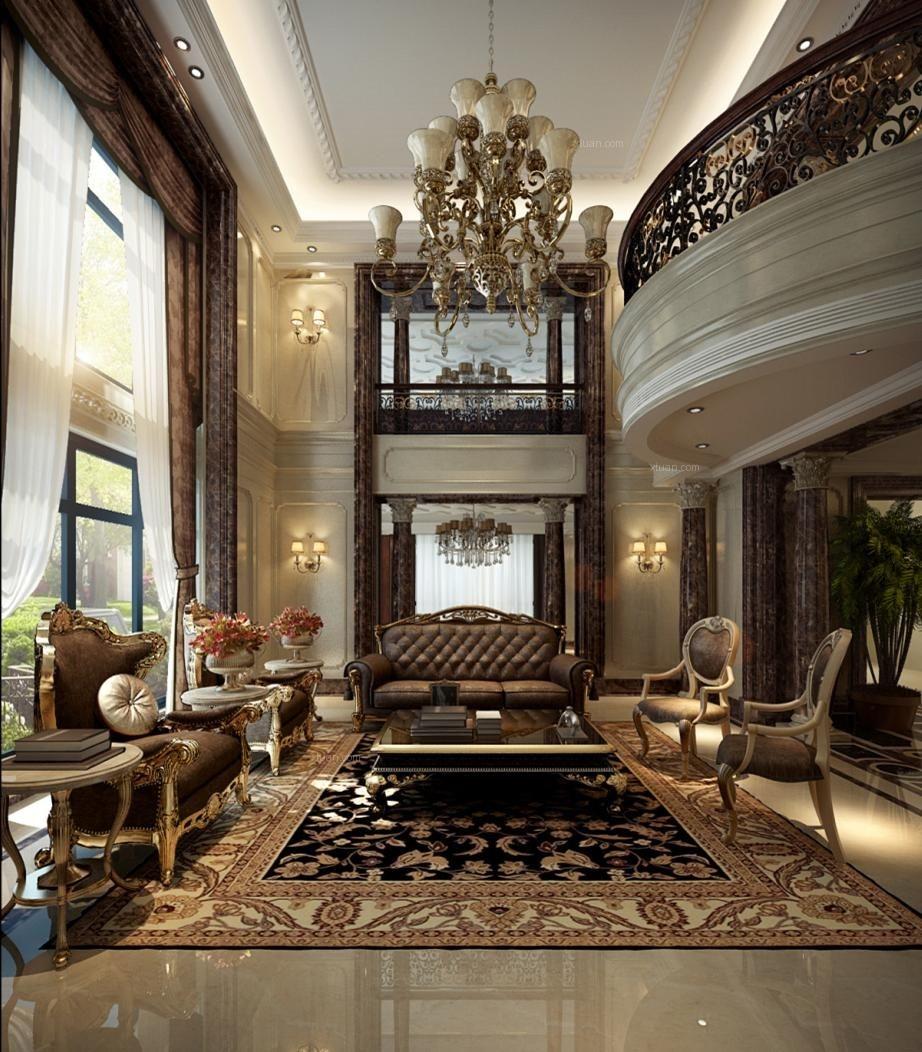 独栋别墅新古典客厅