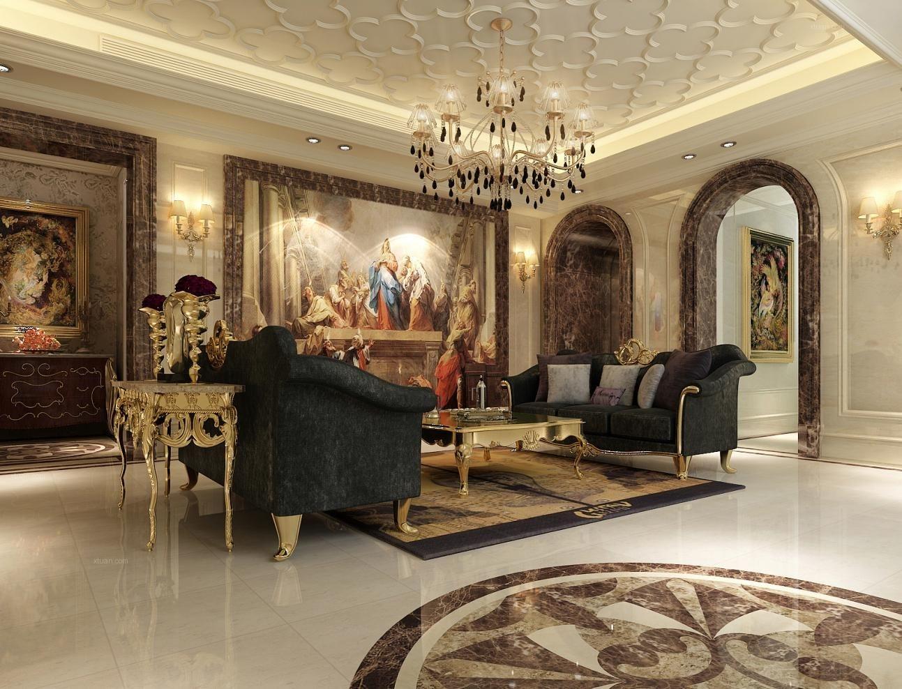 汇贤阁别墅装修美式古典风格设计