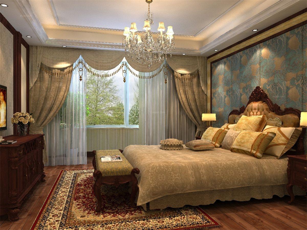 万科琥珀墅别墅项目装修欧式古典风格