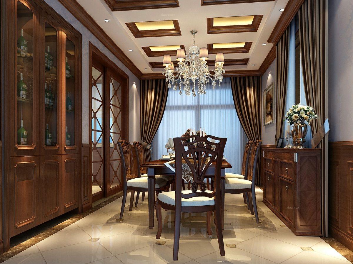 枫丹白露别墅装修欧美古典风格