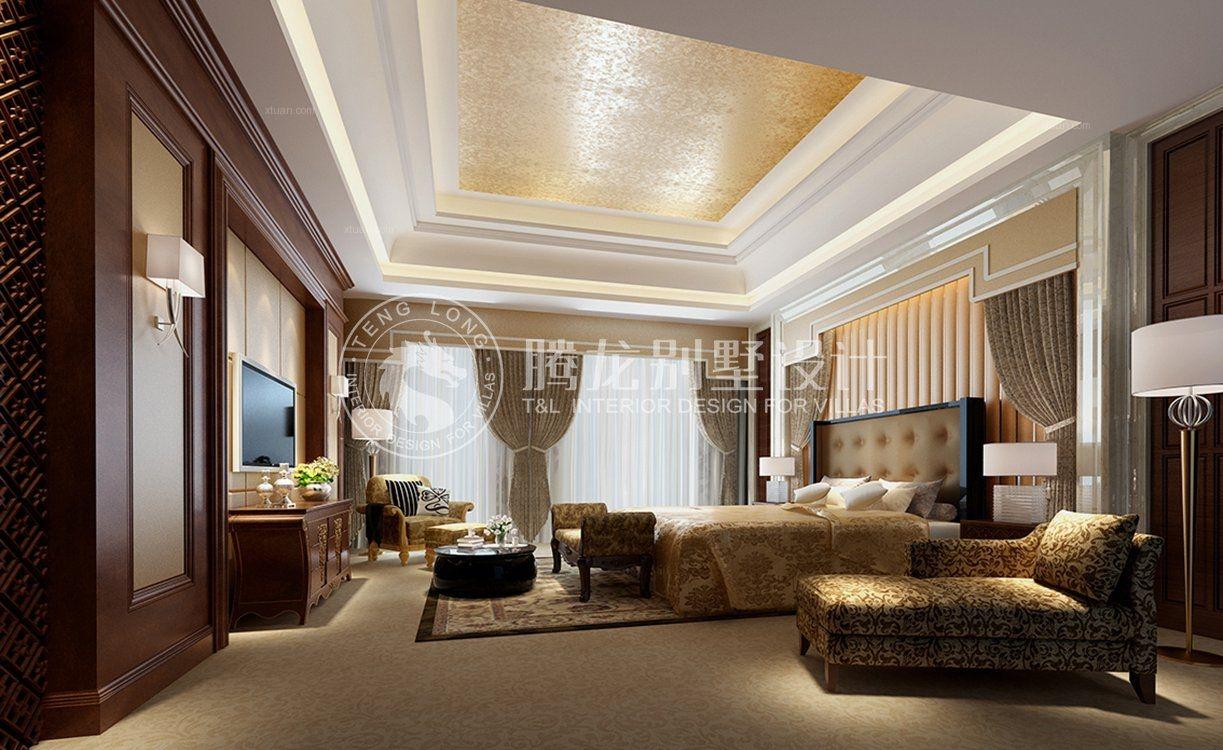联排别墅欧式风格卧室