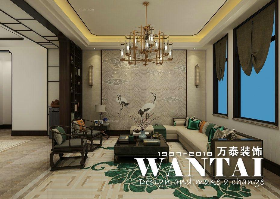 泰安别墅装修|山和院子800m²别墅新中式风格装修—翟帅