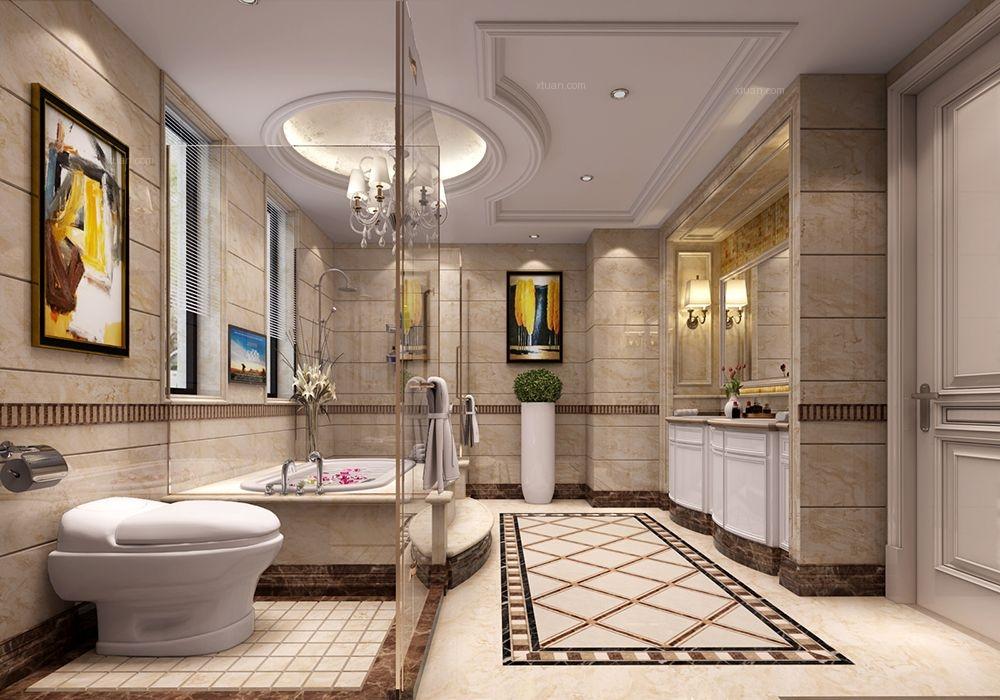 绿地香颂别墅欧式古典风格设计