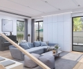 西晶明园别墅装修现代风格设计