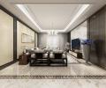 西晶明园现代风格设计案例展示