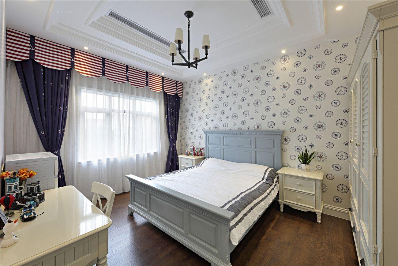 环东别墅美式风格装修完工实景展示