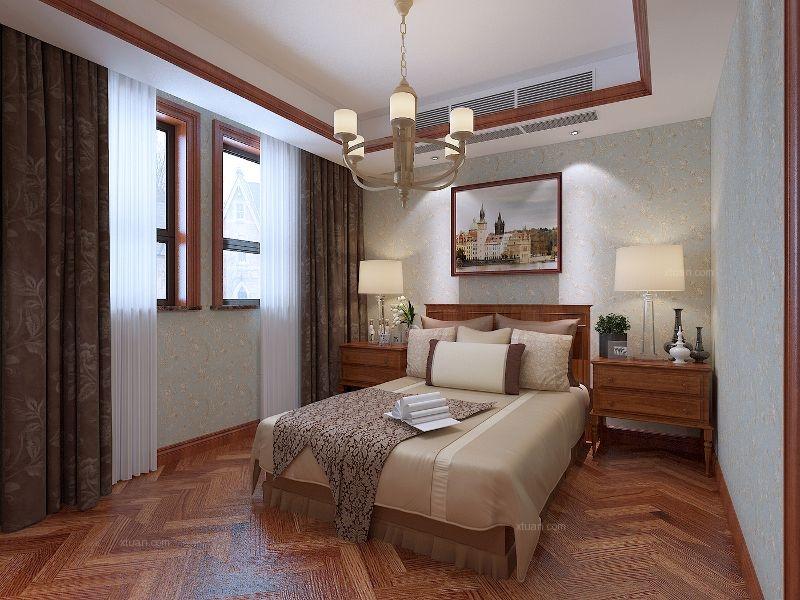 复地太阳城别墅装修简美风格设计