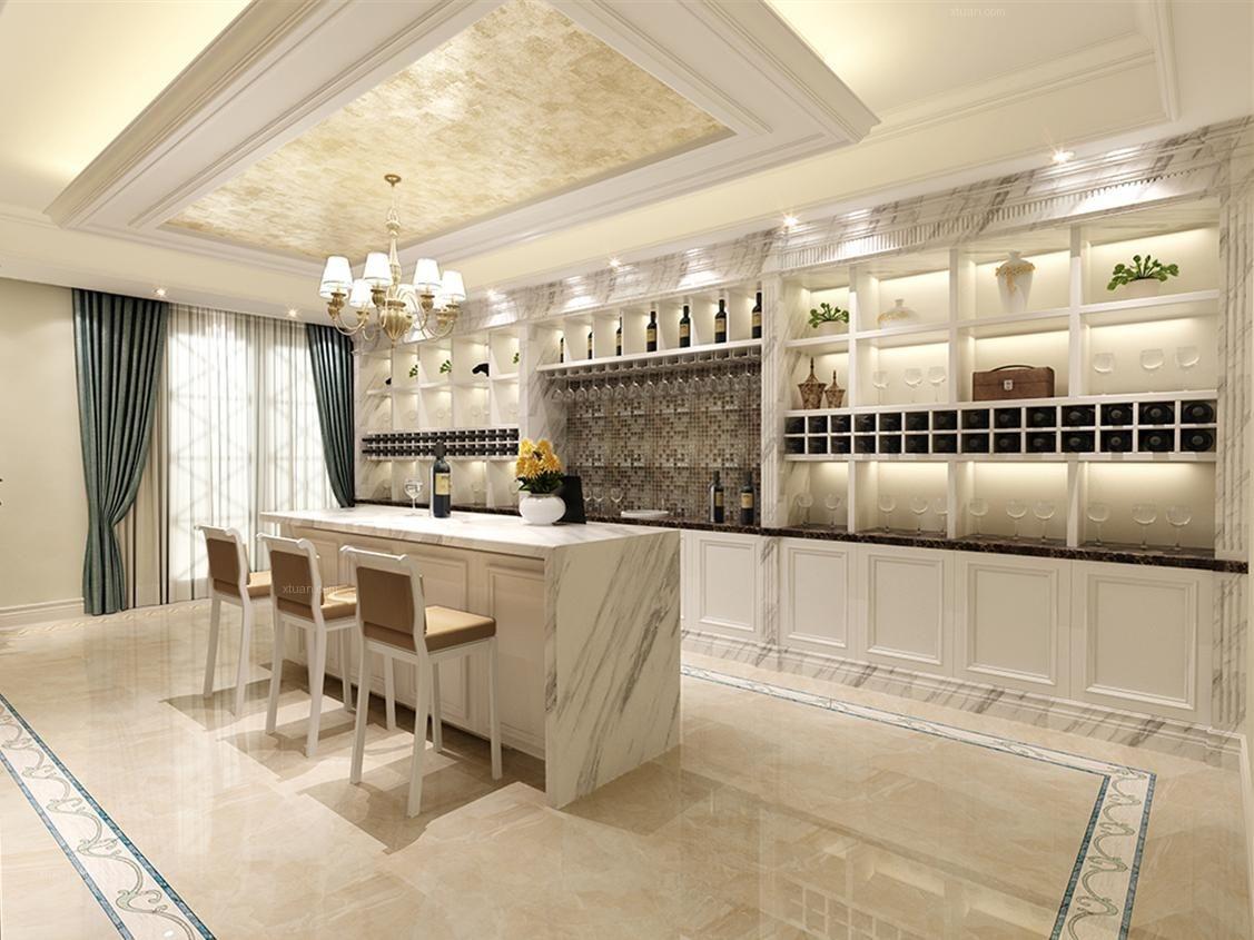 獨棟別墅歐式風格廚房
