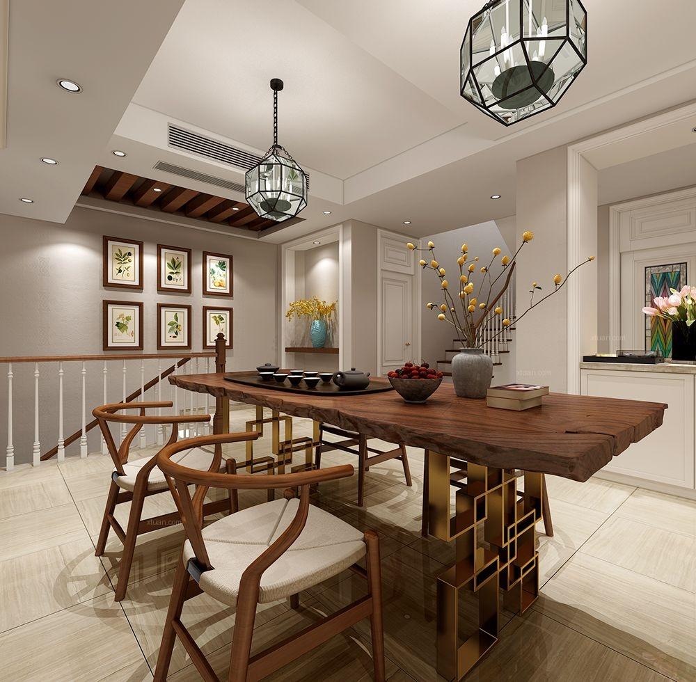 华钜御庭别墅美式风格设计
