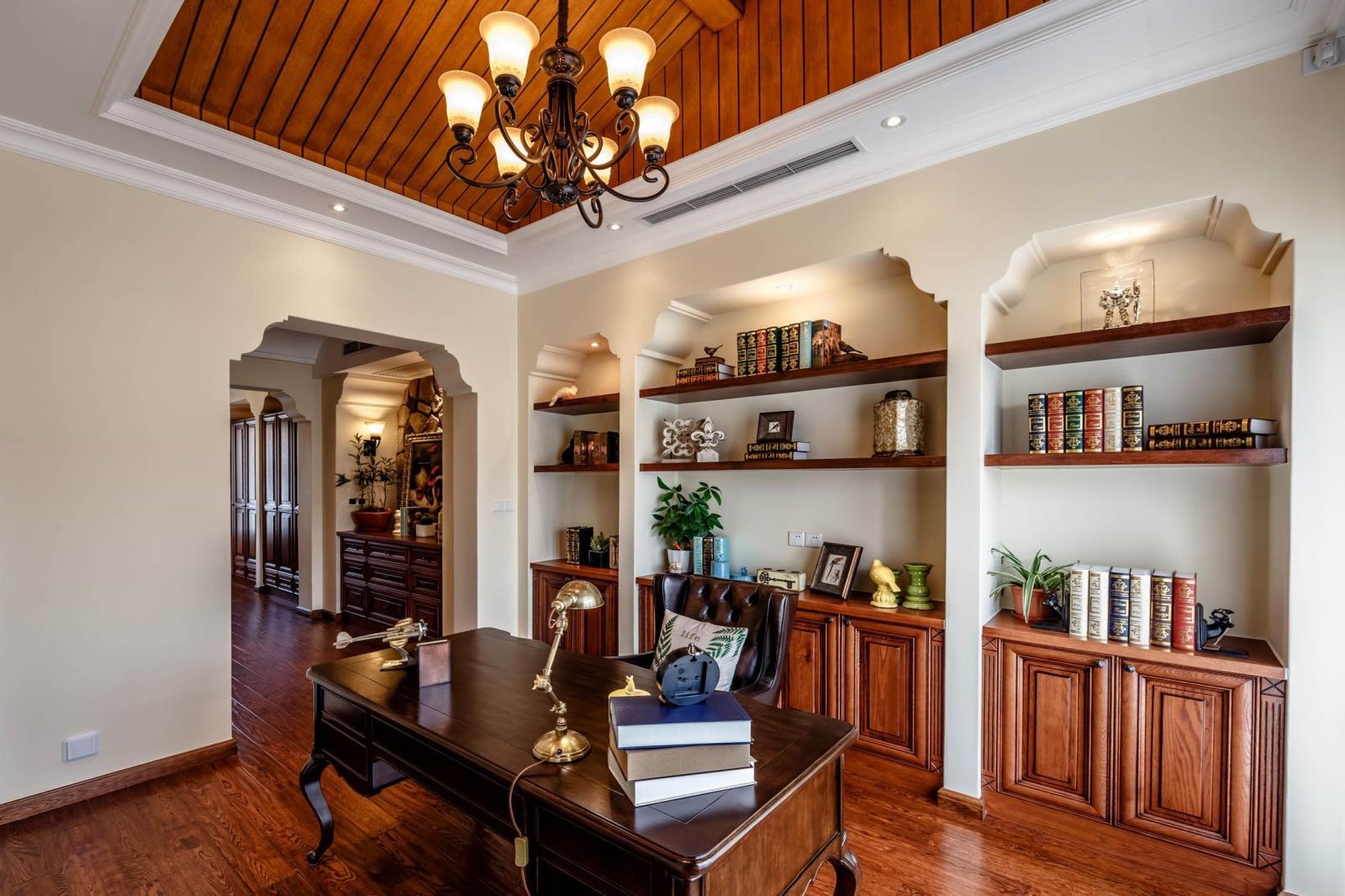 雅阁花园别墅美式风格设计案例