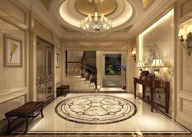 世茂湖滨花园别墅欧式风格设计