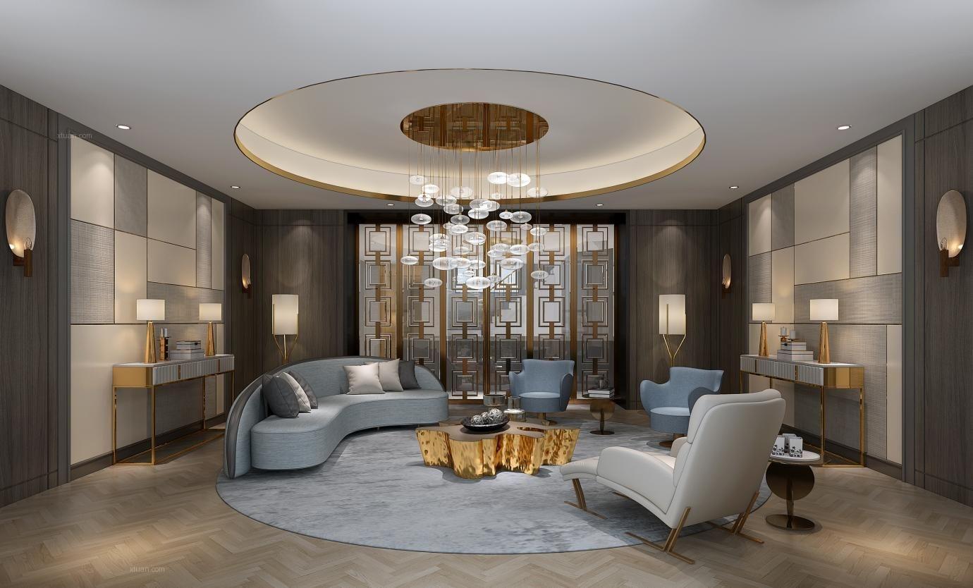 乔爱别墅项目装修欧式风格设计