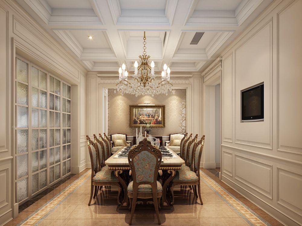 中星美华村别墅欧式古典风格设计