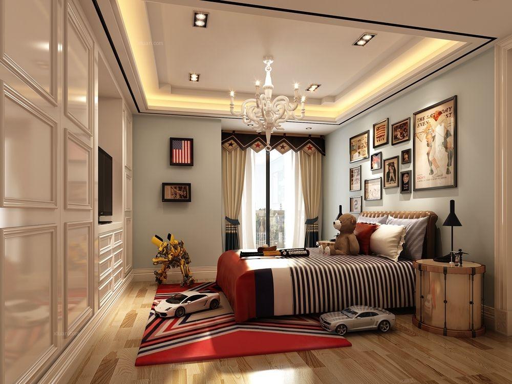 别墅新古典卧室