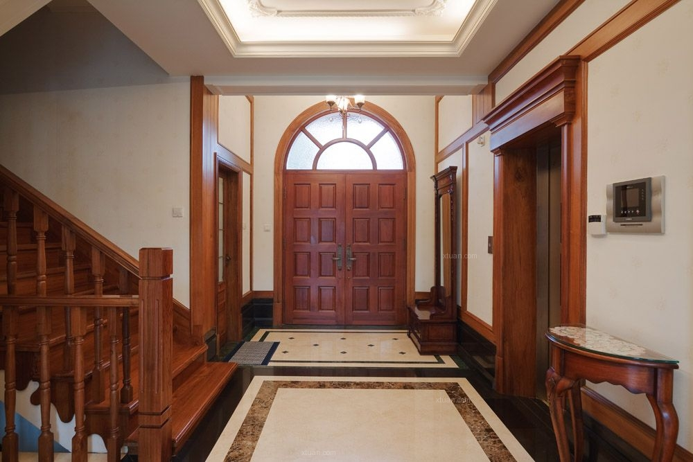 泰晤士小镇别墅项目装修设计案例