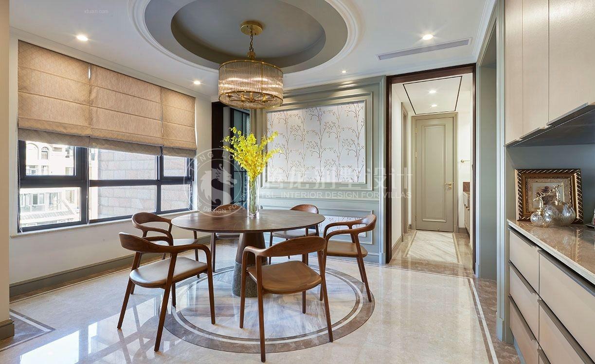 上海滩花园洋房别墅装修设计案例