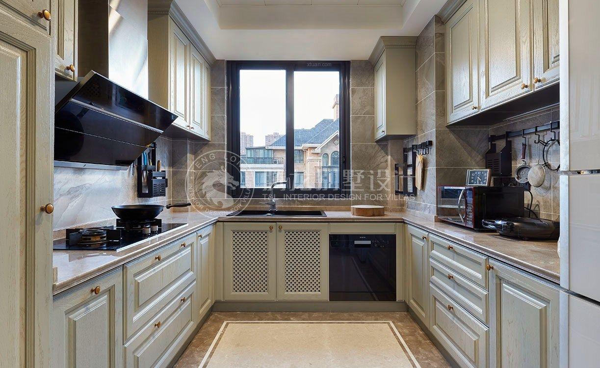 别墅现代风格厨房
