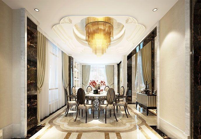 别墅古典风格餐厅
