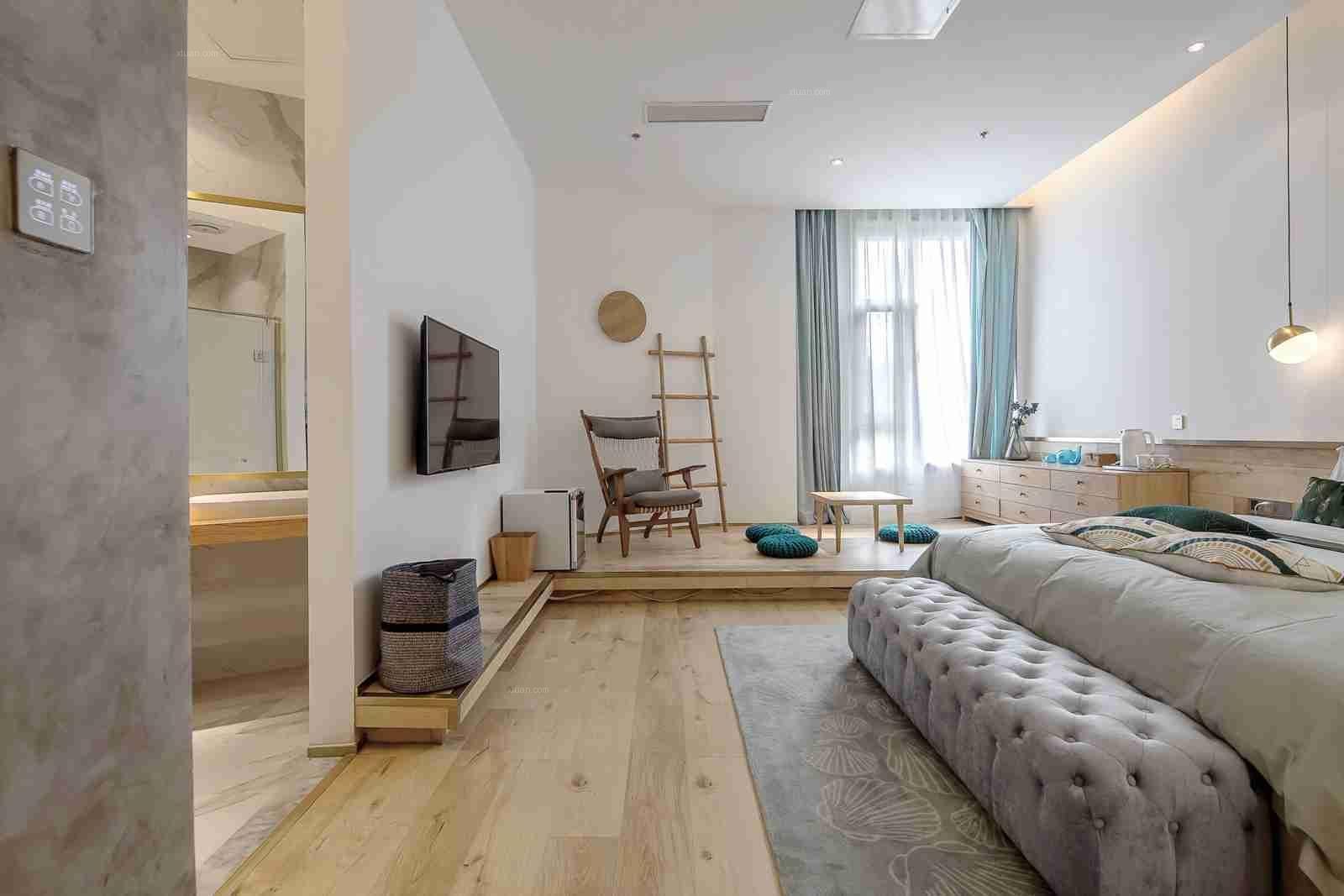 青岛亲子酒店设计案例——那片海