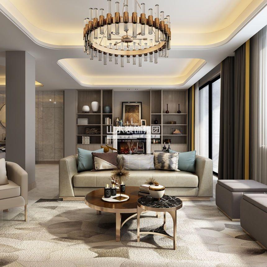 别墅现代风格客厅