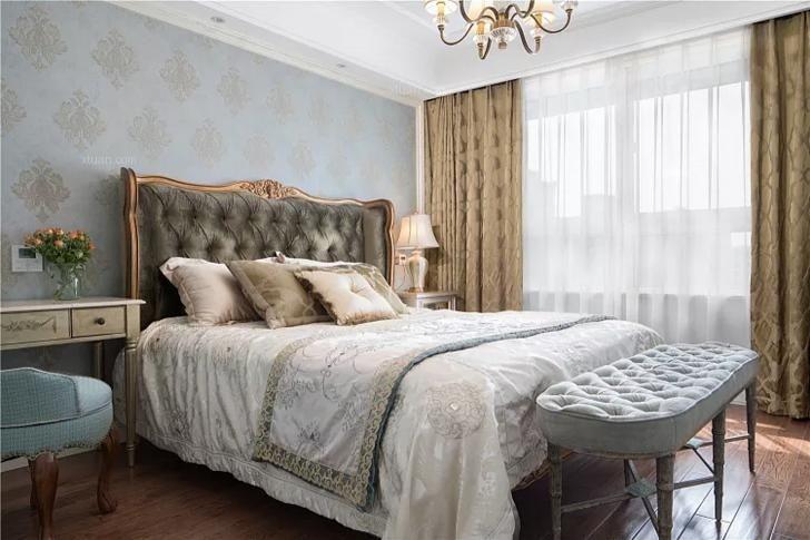 三室两厅美式风格主卧室