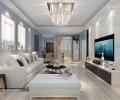 概念式明亮现代风格-哈尔滨鸣雀装饰