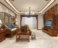 庄重与优雅的中式风格-哈尔滨鸣雀装饰