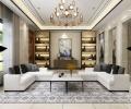 中海紫御豪庭别墅装修新中式风格设计