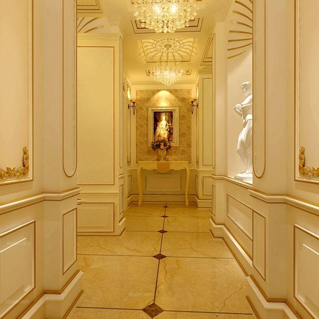 别墅古典风格过道