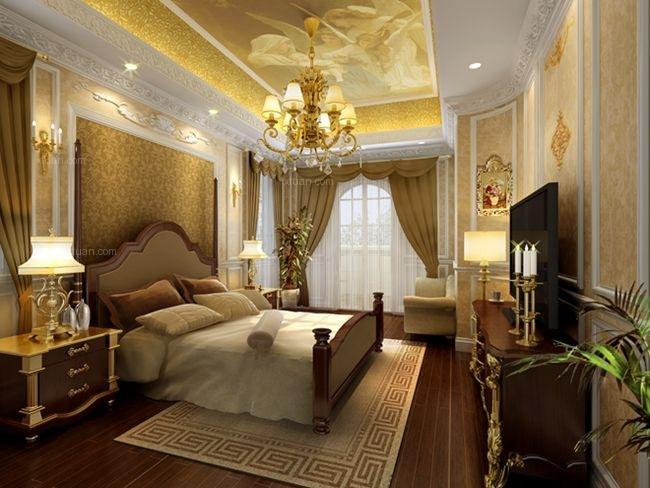 别墅古典风格卧室