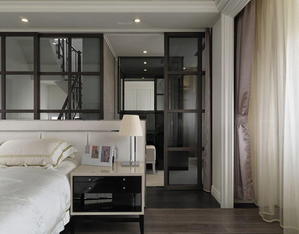 独栋别墅简欧风格卧室