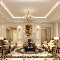 中星红庐500平别墅项目装修设计