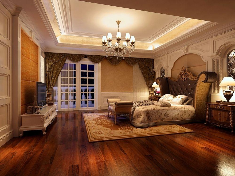 独栋别墅新古典卧室_棕榈泉花园三期独栋别墅欧式古典